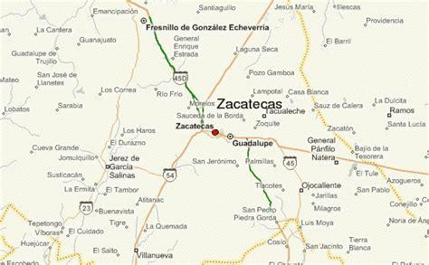 atlas jerez zacatecas mexico map