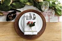 place setting ideas 15 Holiday Place Setting Ideas | How To Decorate