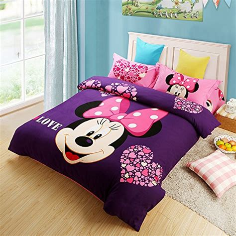 minnie mouse comforter set cutest mickey mouse bedding for and adults