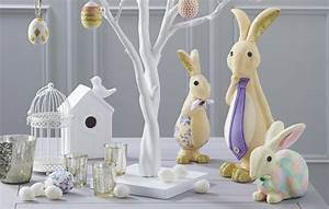 How to Make Polystyrene Easter Bunny Decorations