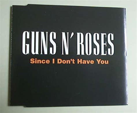 Guns N Roses Since I Don't Have You Records, Lps, Vinyl