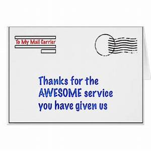 carrier gifts t shirts art posters other gift ideas With city letter carrier thank you cards
