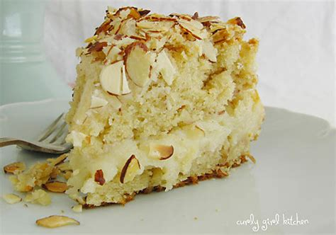 Mix on low setting until well combined. Almond Coffee Cake - Recipe - The Answer is Cake