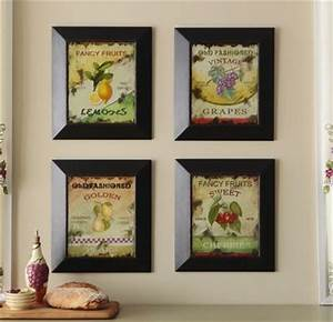 Hanging Framed Fruit Design Wall Art Decor Our Future