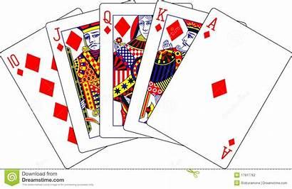 Playing Cards Flush Royal Diamonds Spielkarten Koninklijke