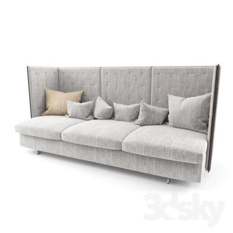 poltrona frau torino 3d models sofa poltrona frau gran torino hb 3 seater sofa