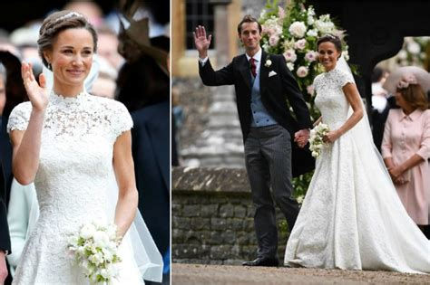 celebrities absolutely nailed  wedding dresses