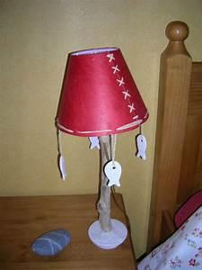 Fabriquer Une Lampe De Chevet : lampe de chevet d co nature cr ations en bois flott ~ Zukunftsfamilie.com Idées de Décoration