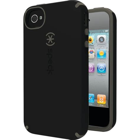 speck shell iphone 4 4s black gray
