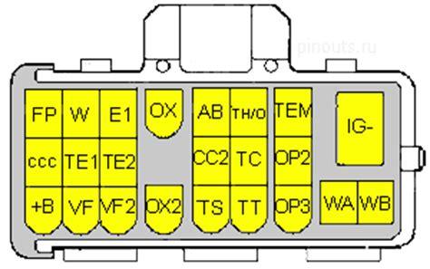 23 pin toyota proprietary connector pinouts ru