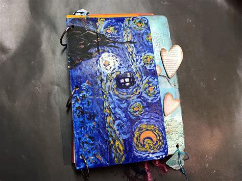 diy gesso  easy art journal purplewhimsie