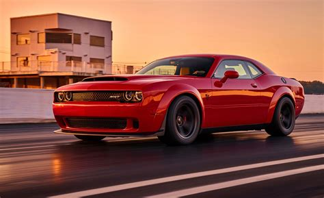 car and driver 2018 dodge challenger srt photos and info news