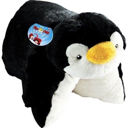 penguin pillow pet as seen on tv pillow pet wee playful penguin