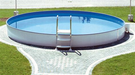 pool 350 x 120 steinbach styria pool rund 216 350 x 120 cm pools shop