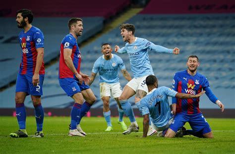Manchester City 4-0 Crystal Palace - Premier League Player ...