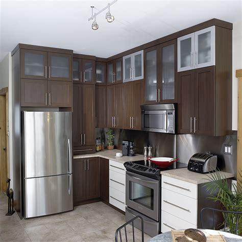 cuisine armoire brune cuisines beauregard cuisine réalisation 37 cuisine