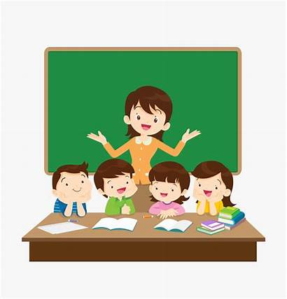 Class Clipart Teacher Classroom Cliparts Yelling Students