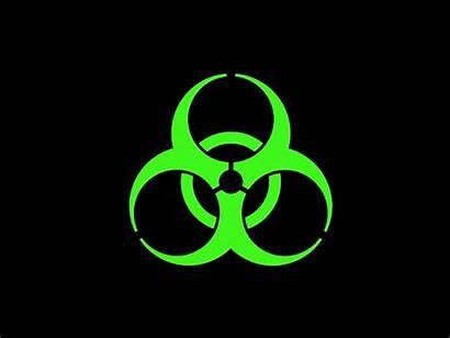 Biohazard Symbol Animation 2d Flickering Dribbble Hazard