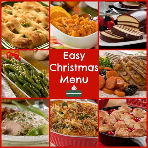 christmas dinner food world s easiest christmas dinner menu mrfood com