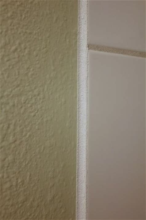 grout edge tile finish with paint things for the