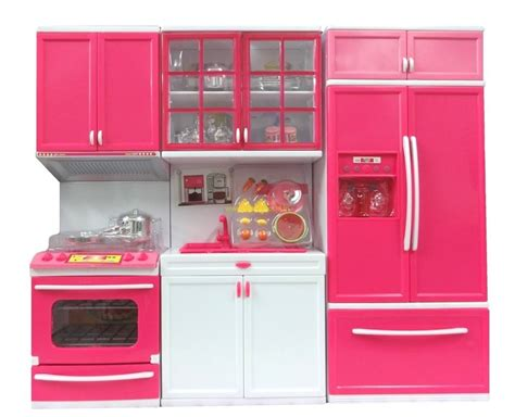 Buy Modern Kitchen Set Battery Operated Play Set With