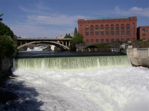 File:Monroe Street Dam on Spokane River.jpg - Wikipedia