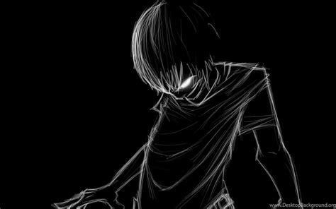 Black And White Anime Wallpaper - black and white anime wallpapers desktop background