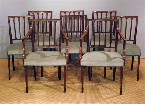set of 8 antique mahogany dining chairs antique dining