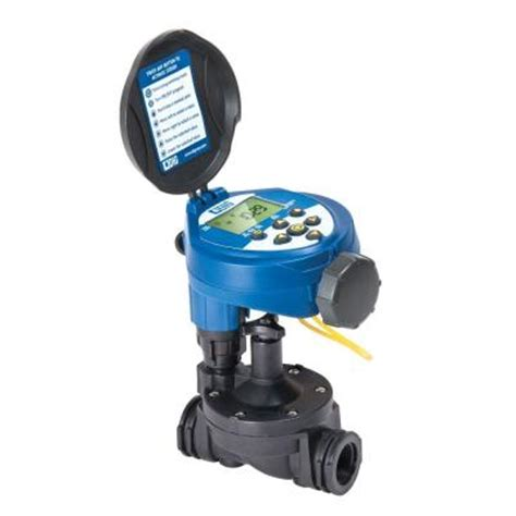 hose faucet timer home depot digital hose end and in line valve timer rbc 7000 the