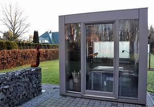 Gartenhaus Mit Glasfront : cube gardomo design gartenh user ~ Markanthonyermac.com Haus und Dekorationen