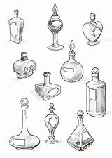 Potion Tattoo Bottles Tattoos Wonderland Bottle Alice Deviantart Drawing Cool Filler Coloring Google Drawings Little Halloween Witch Jar Doodle Perfume sketch template