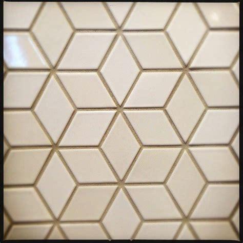 creamwhite diamond backsplash tile