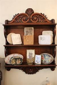 Antique, Wall, Shelf