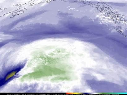 Gulf Alaska Water Vapor Storm Pacific Goes