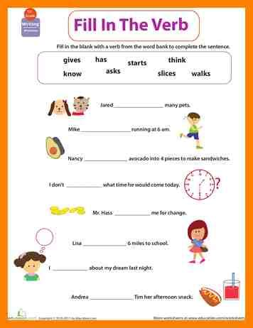 Grade 1 English Worksheets Worksheets For All  Download And Share Worksheets  Free On