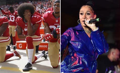 Cardi B Won't Sing At Super Bowl Until Colin Kaepernick
