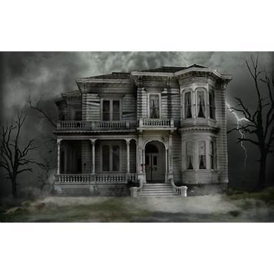 Haunted House Desktop Wallpapers - Wallpaper Cave