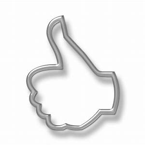 Thumbs (Thumb) Up Outline Hand Icon #076143 » Icons Etc
