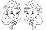 Bubble Guppies Coloring Molly Pages Printable sketch template