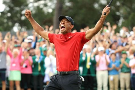 After all these years, Tiger Woods celebrates another ...