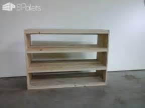 outdoor living plans etagère en bois de palette pallet shoes shelf pallet