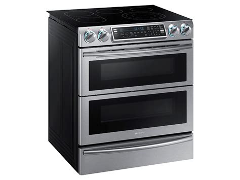 5.8 Cu. Ft. Slide-in Electric Flex Duo™ Range With Dual Door Ranges Sunflame Shakti Stainless Steel 2 Burner Gas Stove Silver Coal Stoves Maine O Keefe And Merritt Electric Parts Stovepiper Chimney Sweep Wood Insert Victoria Bc Top Grates In Dishwasher Large Griddle Pan How To Open Whirlpool