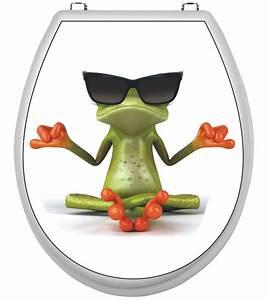 Aufkleber Für Toilettendeckel : wc deckel aufkleber frosch klobrille toilettendeckel klodeckel toilette ebay ~ Orissabook.com Haus und Dekorationen