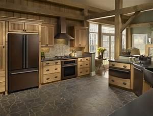 cabinet style refrigerator, Who Makes Bronze Kitchen ...