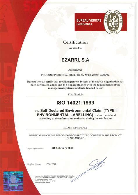 certifications ezarri
