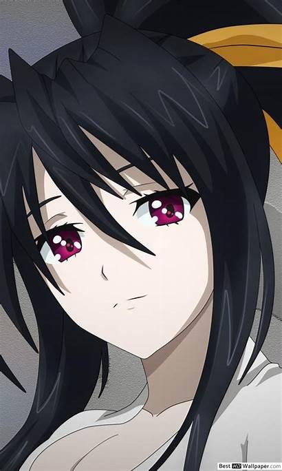 Dxd Akeno Himejima Anime Background Iphone Nexus