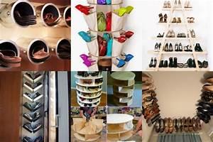 Schuhe Aufbewahren Ideen : 20 kreative aufbewahrungsideen f r schuhe ~ Markanthonyermac.com Haus und Dekorationen