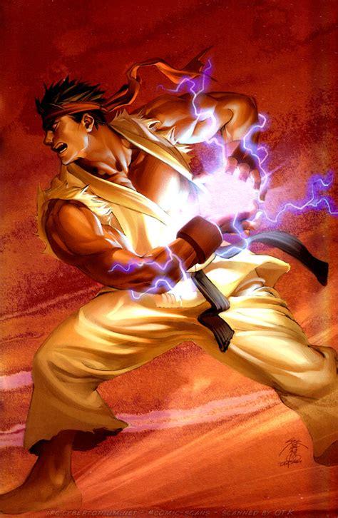 †emplar Digi†al Character Spotlight Ryu Street Fighter