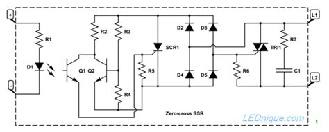 Opto Triacs Solid State Relays Ssr Zero Cross How