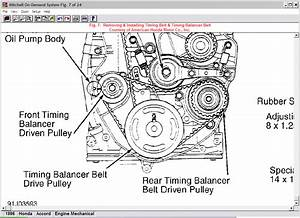 Service Manual  How To Set Timing For A 1996 Honda Odyssey